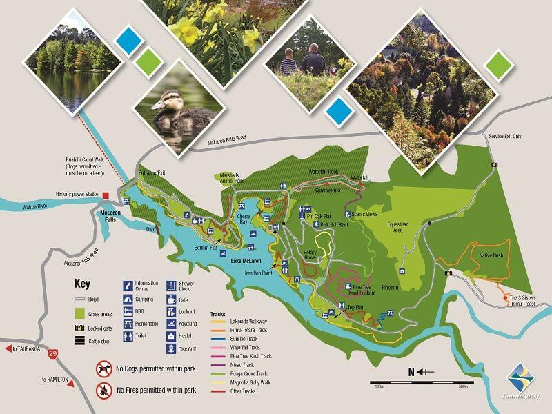 mclaren falls park map