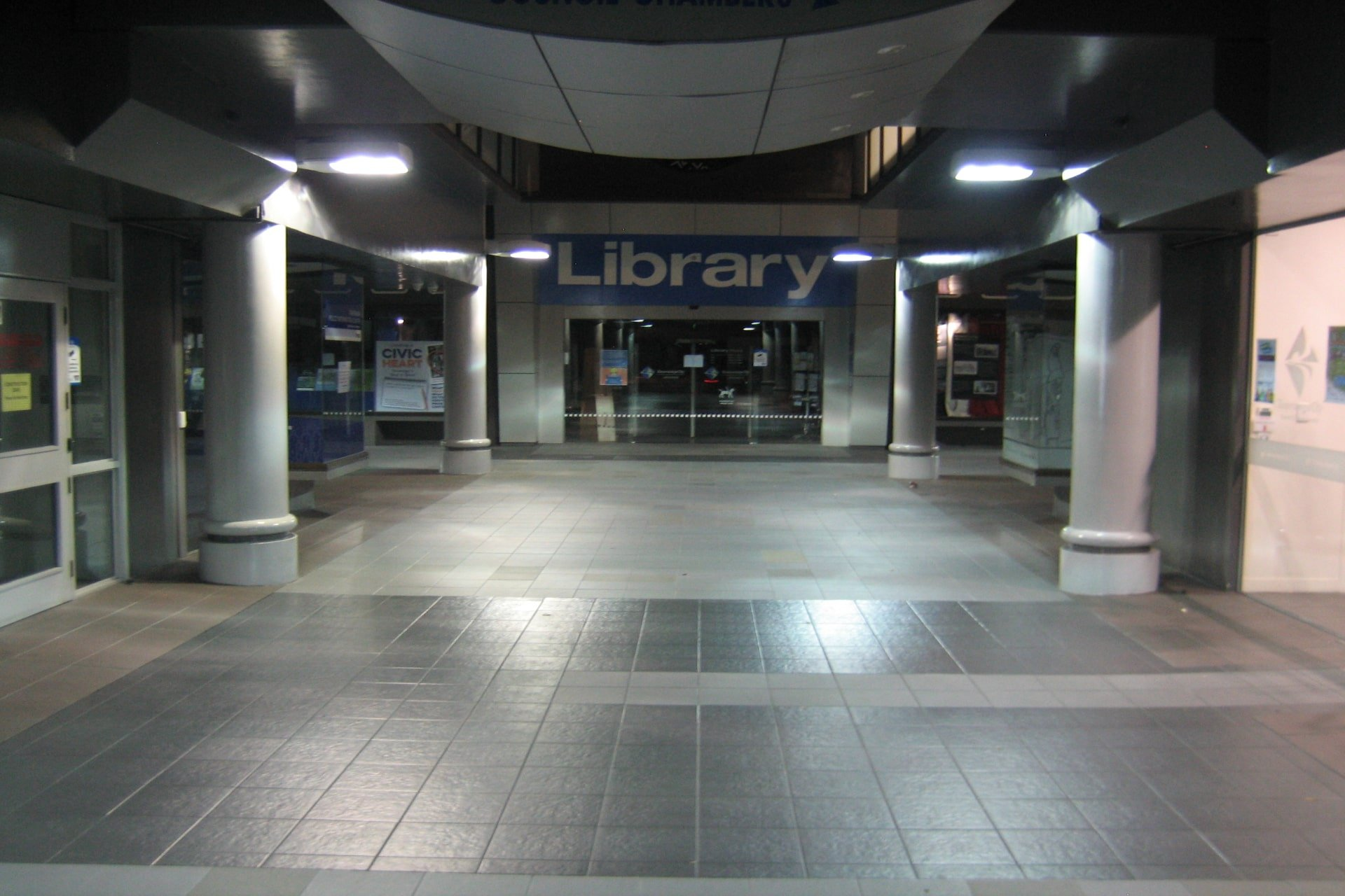 Read in Tauranga Library