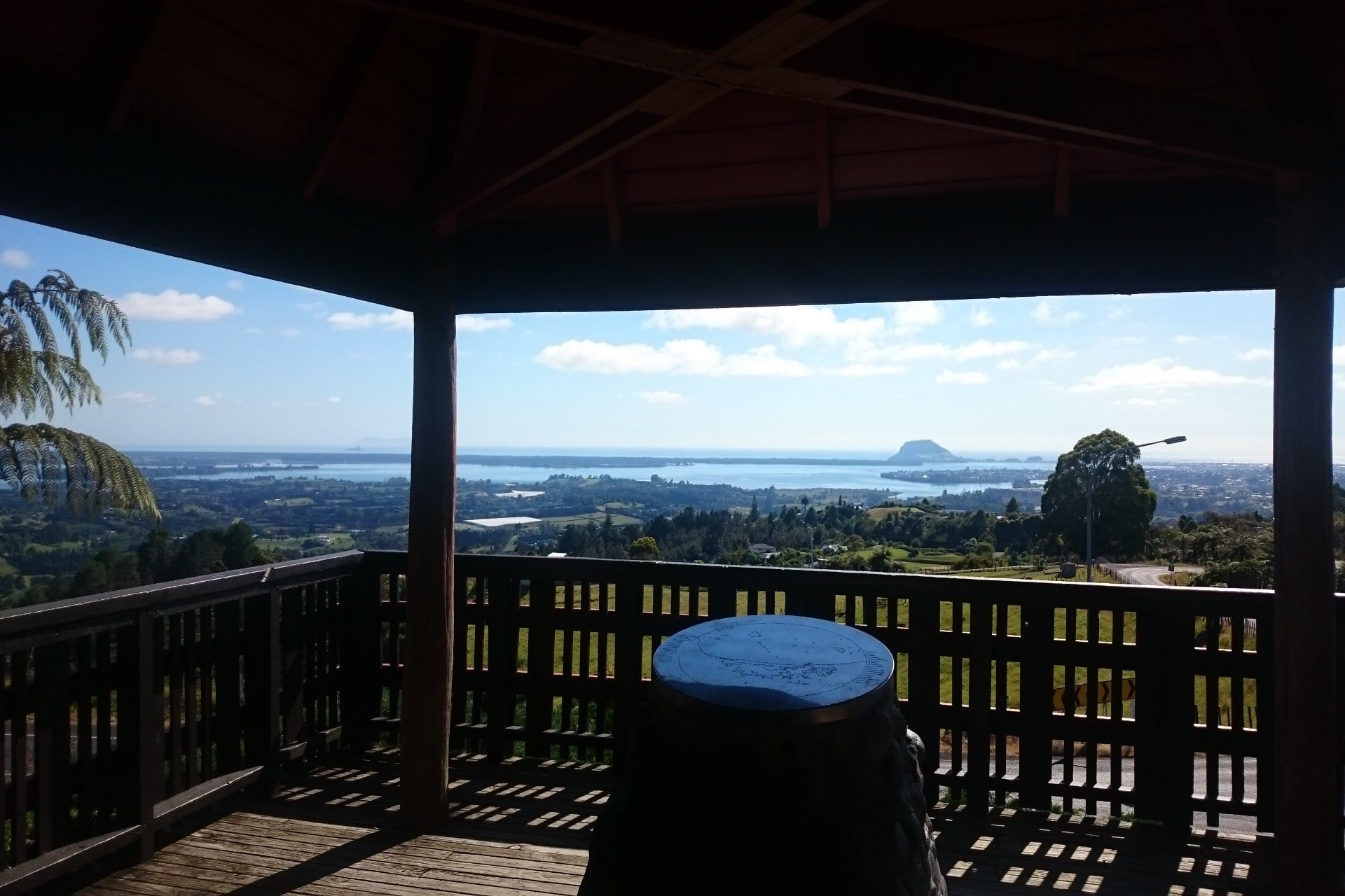 The Minden Lookout In Tauranga