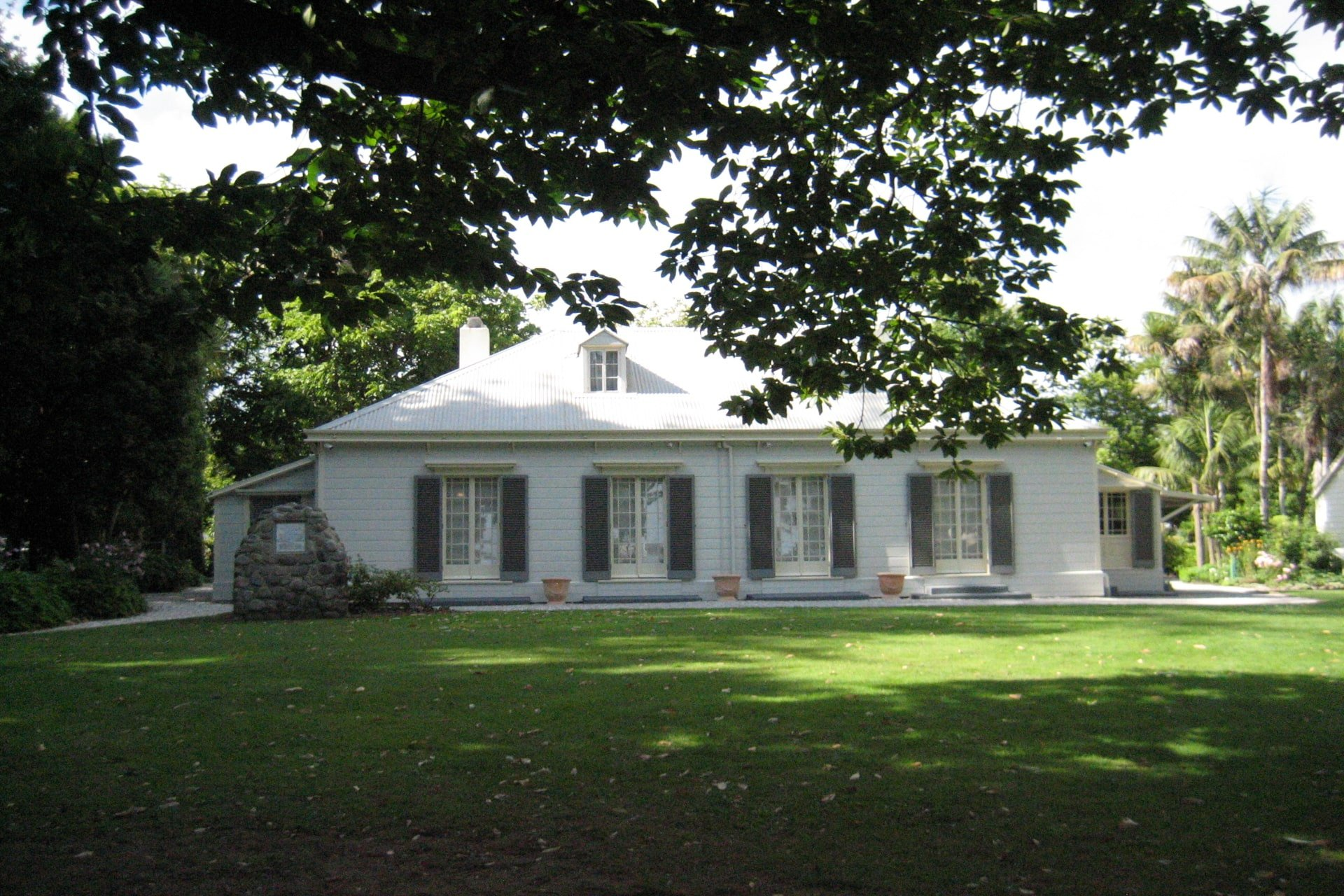 The Tauranga Elms Mission House