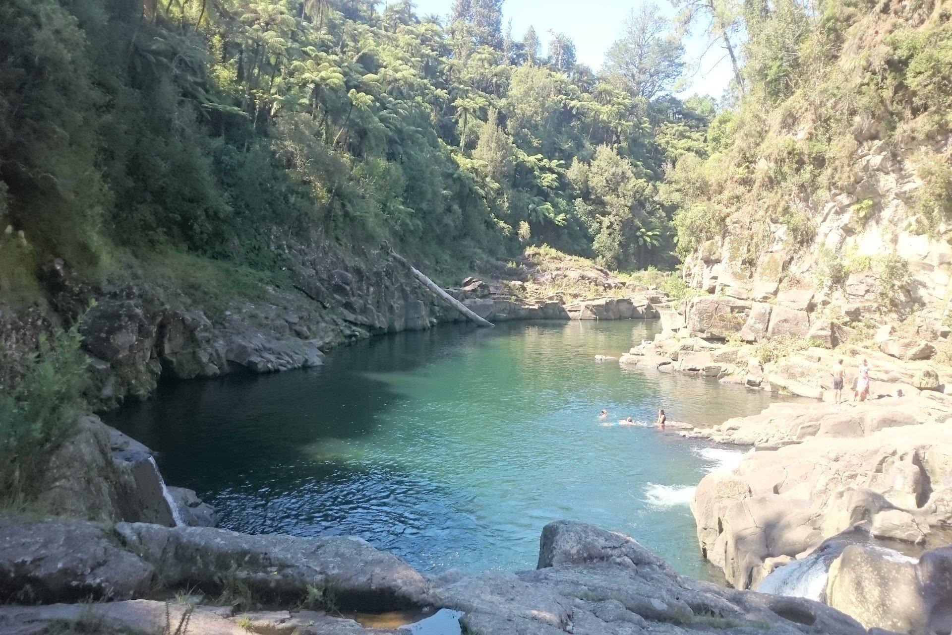 Swimming spots in Tauranga