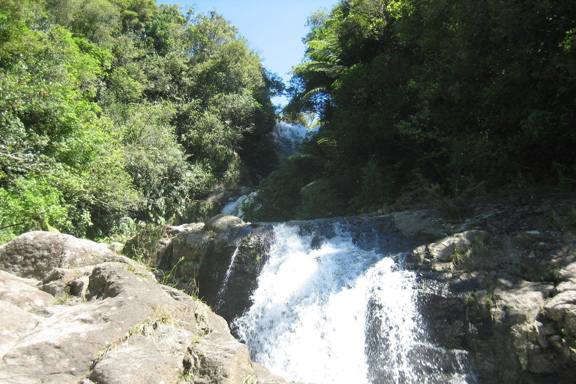 looking-up-cacades-of-falls-at-kaiate