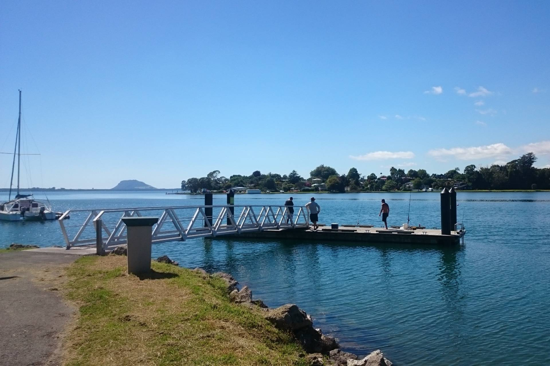 Plummers point fishing spot in Tauranga