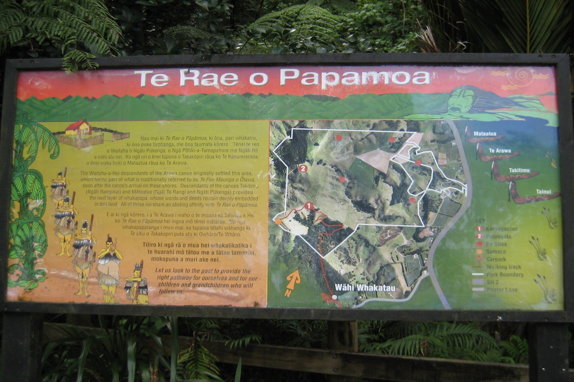 sign-at-papamoa-hills-walk